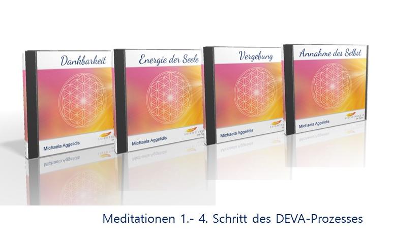 DEVA - Prozess CD 1-4 von Michaela Aggelidis - Leichtigkeit im Sein