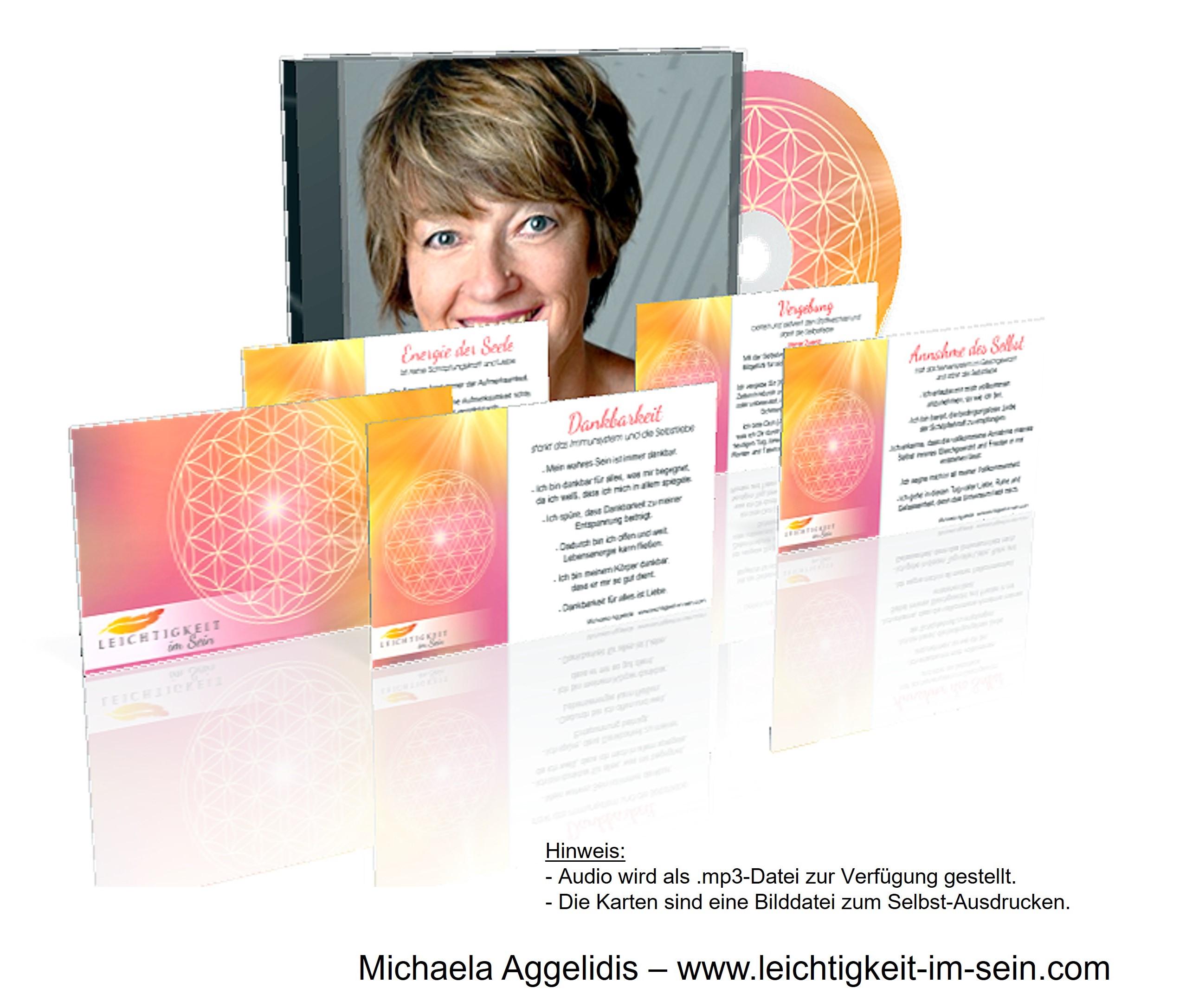 Geschenke zum DEVA-Prozess von Michaela Aggelidis